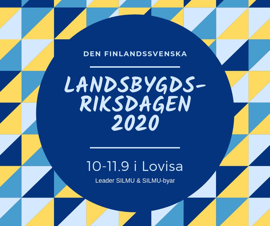 Suomenruotsalainen maaseutuparlamentti 2020 @ Lovisa