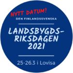 Suomenruotsalainen maaseutuparlamentti järjestetään 2021