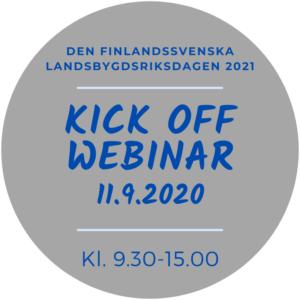 Kick off webinar @ svenskfinland