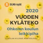 Vuoden Kyläteko –palkinto myönnettiin yksimielisesti Mäntsälän Ohkolan kylän toimijoille