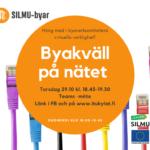 SILMU-byar byakvällen arrangeras virtuellt 29.10