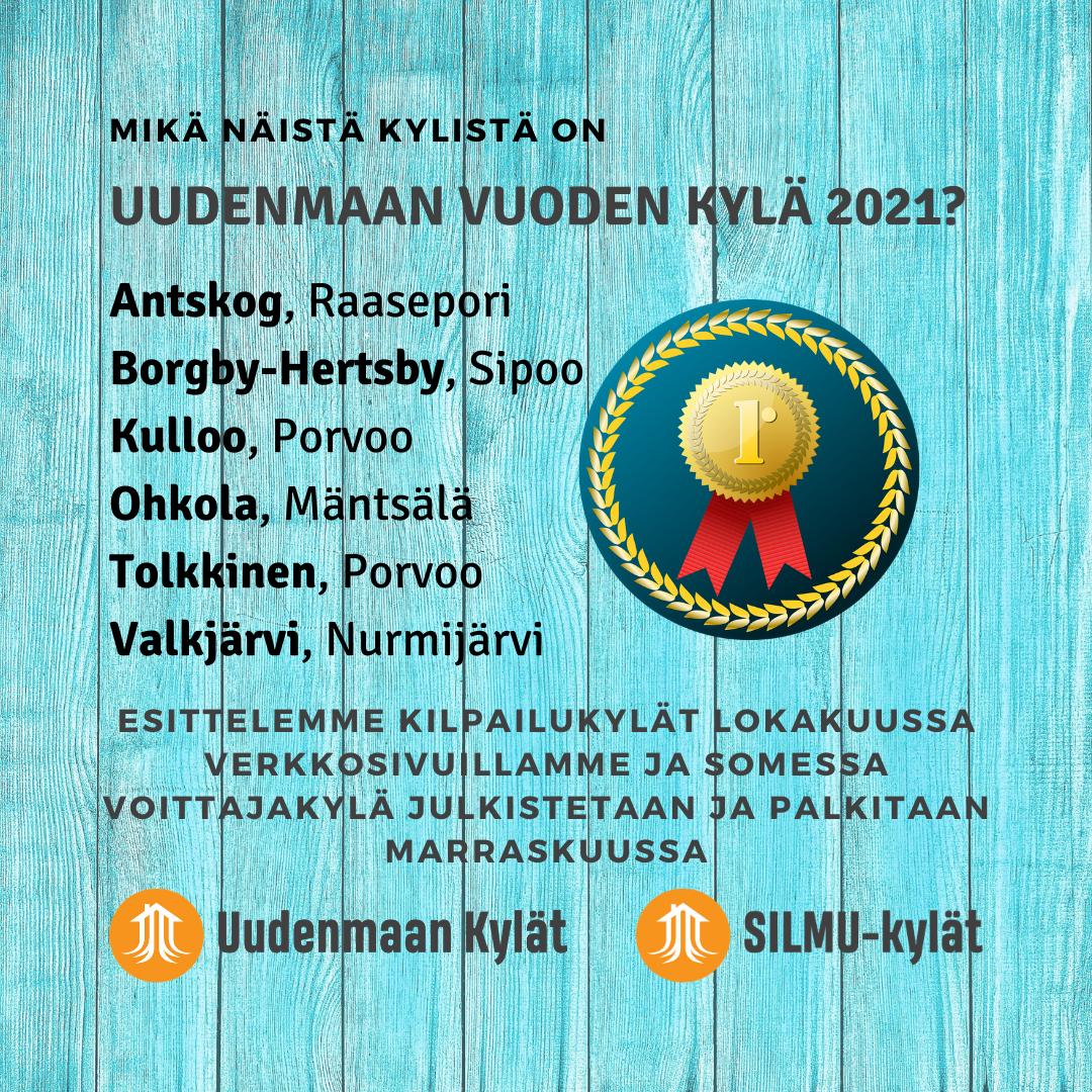 Uusimaa Ehdokkaat 2021