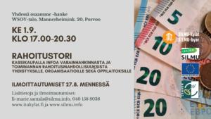Rahoitustori @ WSOY -talo, Porvoo